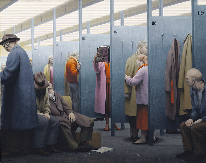 The Waiting Room, 1959 - George Tooker