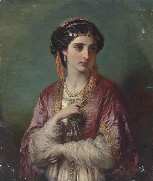 Jessica, 1867 - Thomas Francis Dicksee