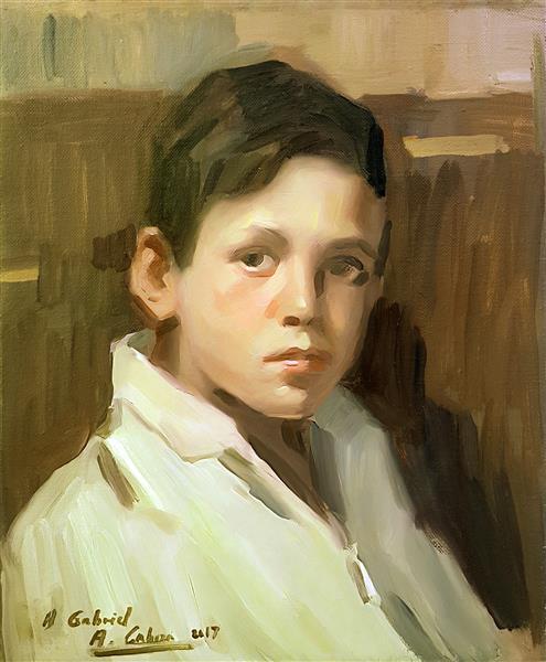 Retrato De Gabriel, 2012 - Alejandro Cabeza