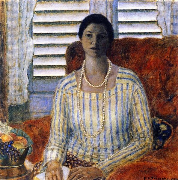 Closed Blinds, 1924 - Frederick Carl Frieseke