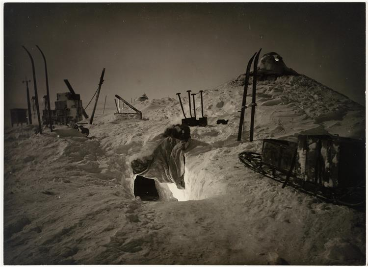 Winter Quarters, Queen Mary Land - Frank Hurley