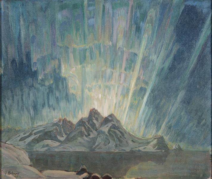 Northern Lights. Study from North Norway - Anna Katarina Boberg