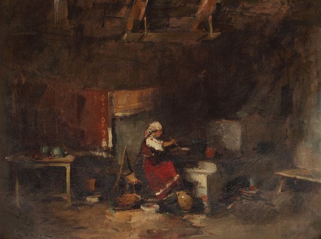 Rural kitchen - Teodor Harșia