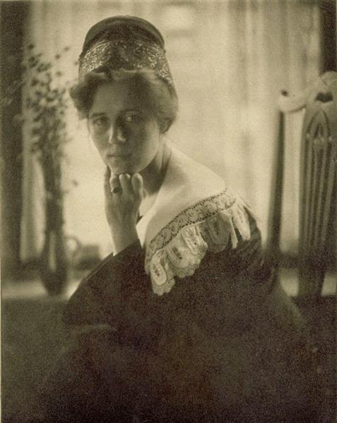 Danish Girl, c.1909 - Alice Boughton