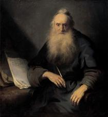St. Paul writing to the Thessalonians - Jan Lievens
