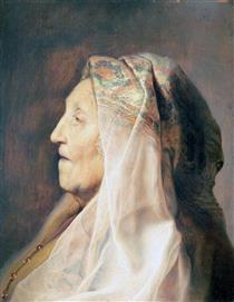 Profile Head of an Old Woman - Jan Lievens