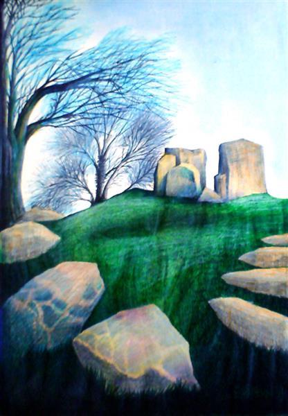 Coldrum Stones Addington by John Baroque - John-Baroque
