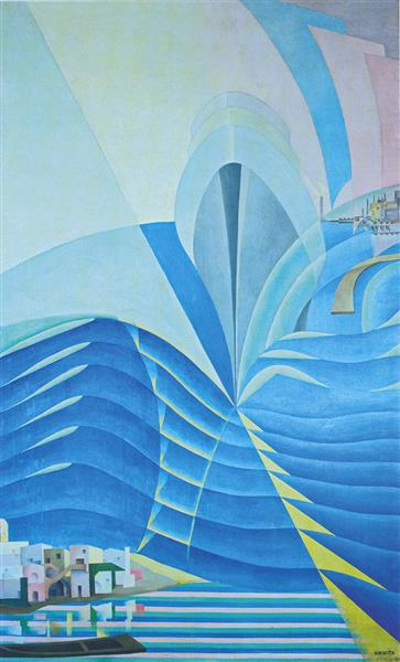 Synthesis of Marine Communications, 1933 - 1934 - Benedetta Cappa