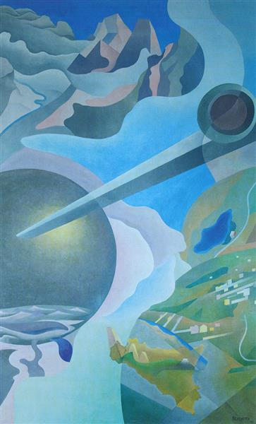 Synthesis of Aerial Communications, 1933 - 1934 - Benedetta Cappa