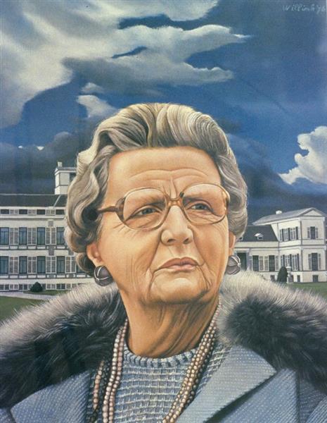 Portrait of Queen Juliana, 1976 - Карел Вілінк