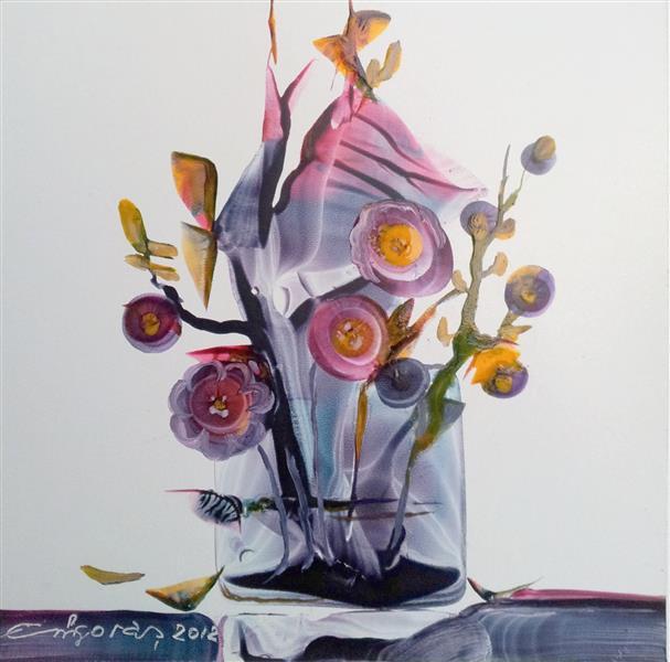 El Jarrón con Flores del Jardín de Orión, 2012 - Emil Grigoras ...