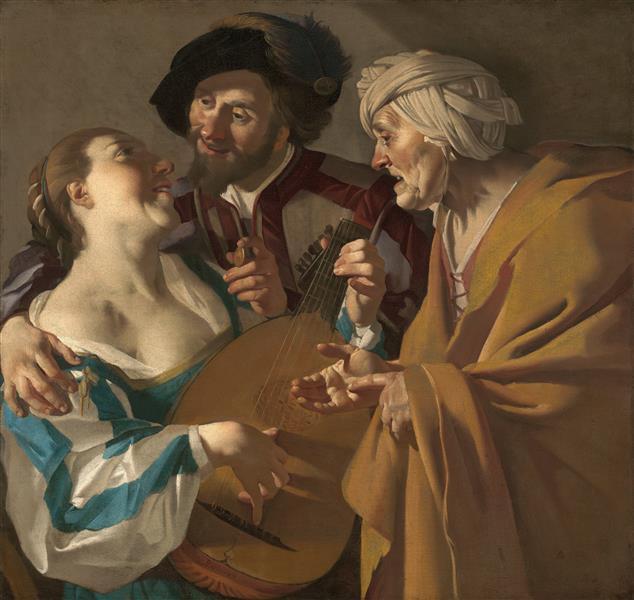 The Procuress, 1622 - Dirck van Baburen