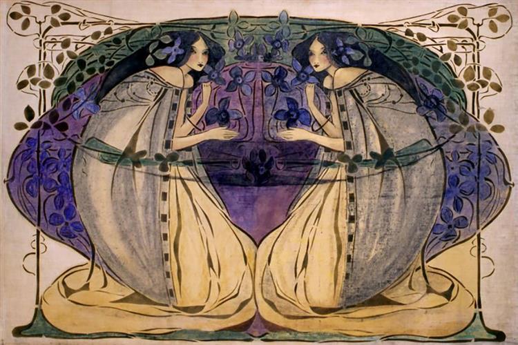 Spring, c.1900 - c.1905 - Frances MacDonald