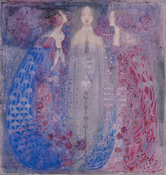 The Three Perfumes, 1912