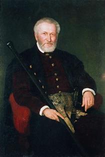 Portrait of Leon Sapieha - Henryk Rodakowski