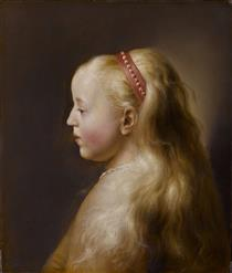 A young girl - Jan Lievens