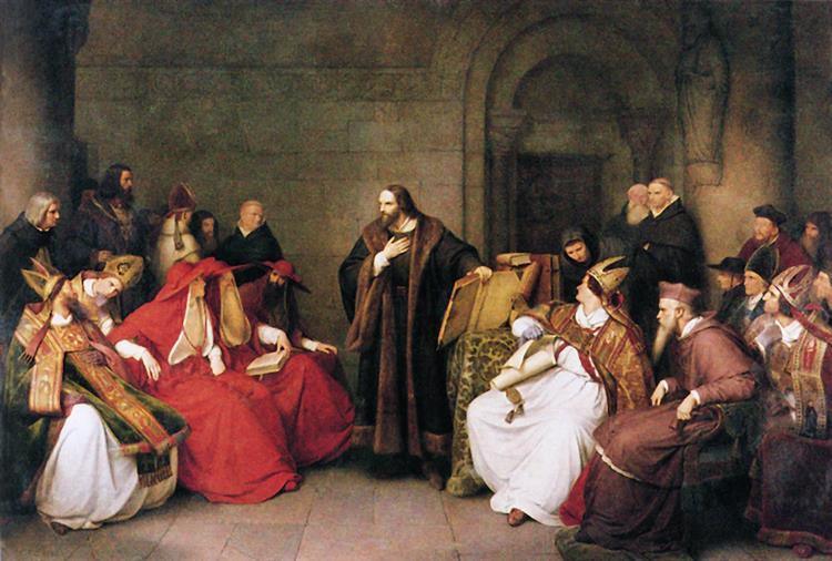 Johann Hus Auf Dem Konstanzer Konzil, 1842 - Karl Lessing