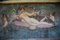 Aphrodite Anadyomene from Pompeii - Apelles