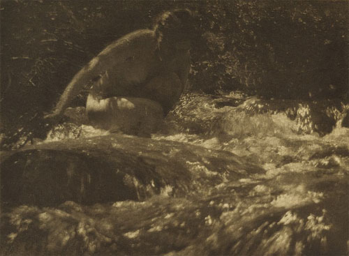 the Brook - Anne Brigman