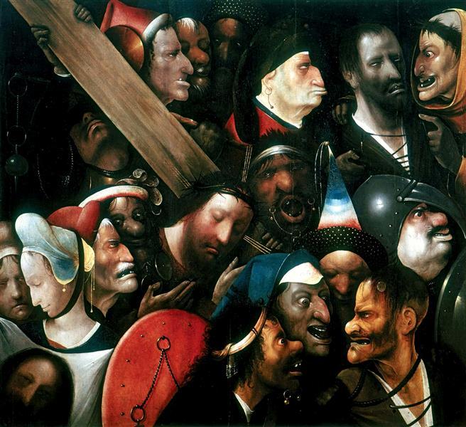 Kreuztragung, c.1510 - Hieronymus Bosch