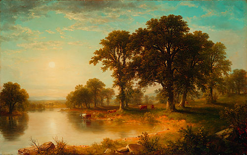 Summer Afternoon - Asher Brown Durand