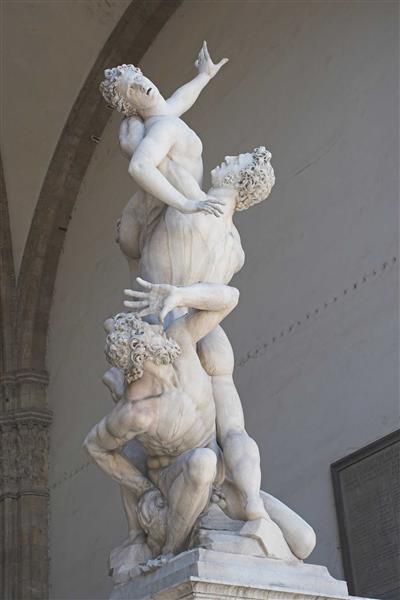 Abduction of a Sabine Woman - Juan de Bolonia