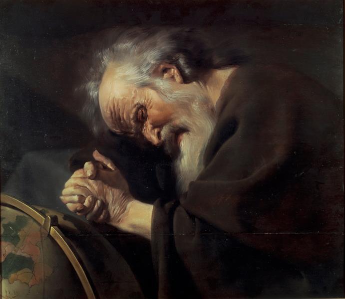 Heraclitus - Johannes Moreelse