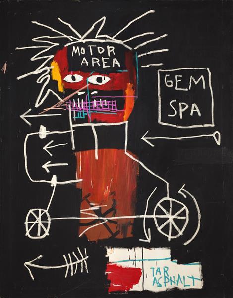 Untitled (Gem Spa), 1982 - Jean-Michel Basquiat