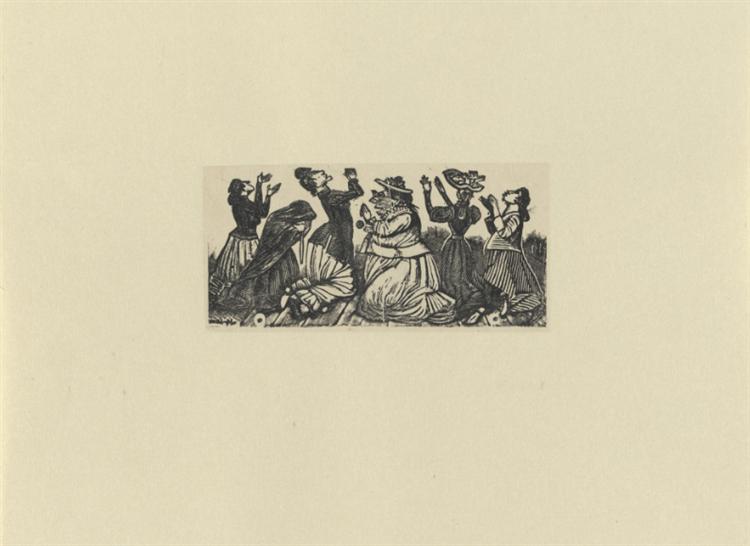 Ballad of the Supplicants to San Antonio, 1870 - José Guadalupe Posada