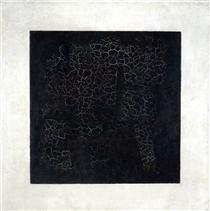 Das Schwarze Quadrat - Kasimir Sewerinowitsch Malewitsch