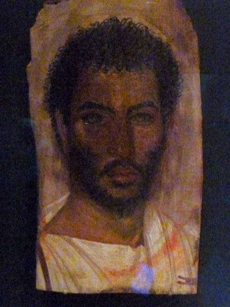 Mummy Portrait of a Bearded Man - Fayum portrait