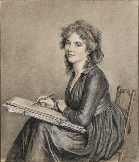 Self Portrait, 1790 - Marie Gabrielle Capet