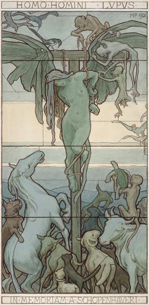 Homo Homini Lupus - Maximilian Pirner