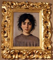 l'adolescente - Silvestro Lega