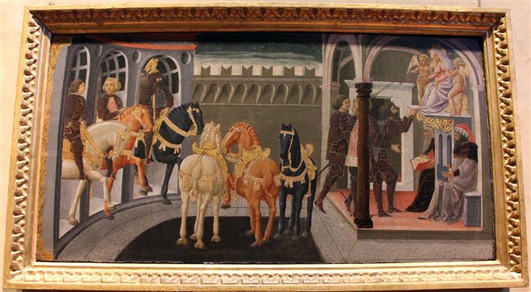 Eroi prescelti dalla fama, c.1450 - Lo Scheggia