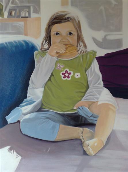 Das Kind mit dem Brötchen, 2008 - Eva Janina Wieczorek