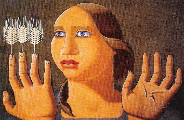 Surprise of the Wheat, 1936 - Maruja Mallo