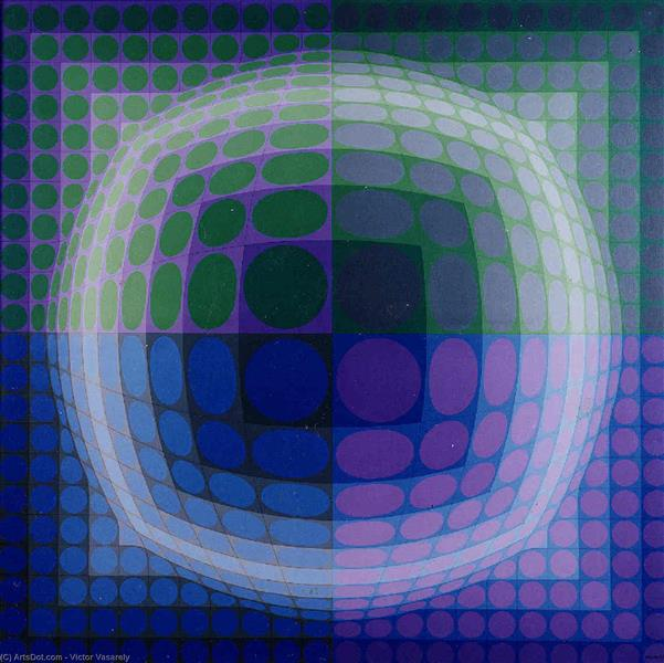 Pal-Ket, c.1973 - c.1974 - Victor Vasarely
