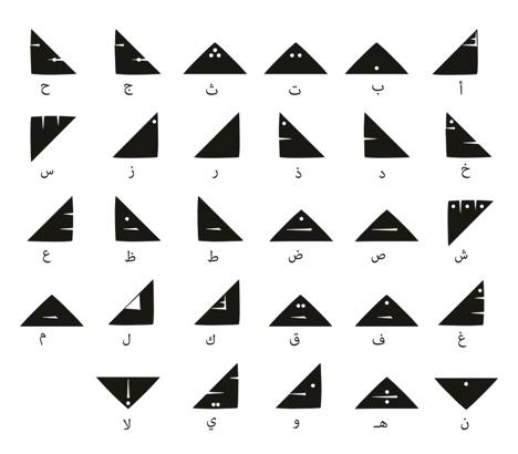 Monthalath typeface - Bahia Shehab