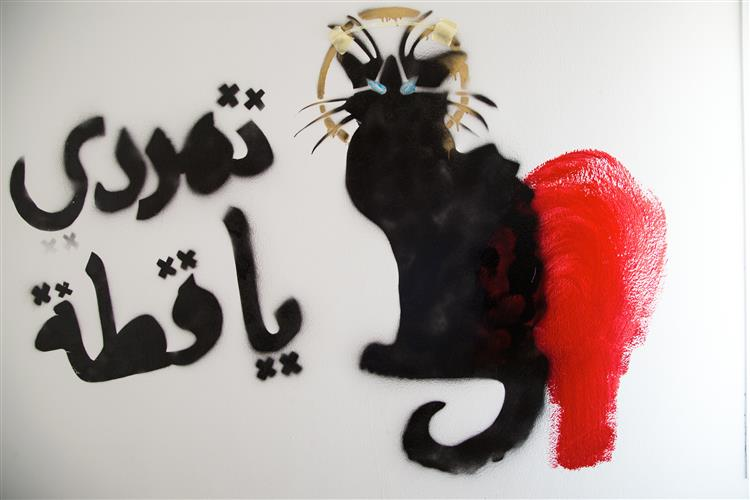 Rebel Cat - Bahia Shehab