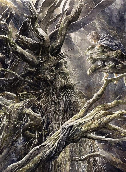 Treebeard - Alan Lee