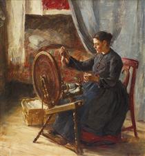 The spinner - Elin Danielson-Gambogi