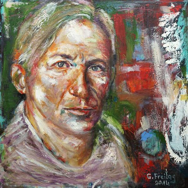 Gazmend Freitag - Self-Portrait - Gazmend Freitag