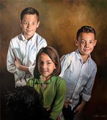 Retrato Triple - Soleto