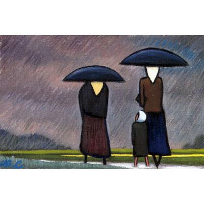 Rain, 1950 - Werner Berg