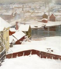 The First Snow - Альберт Эдельфельт