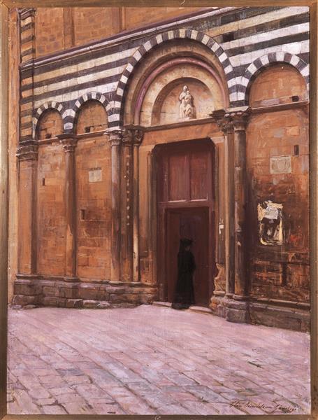 St Michele Kyrka, 1908 - Danielson-Gambogi, Elin