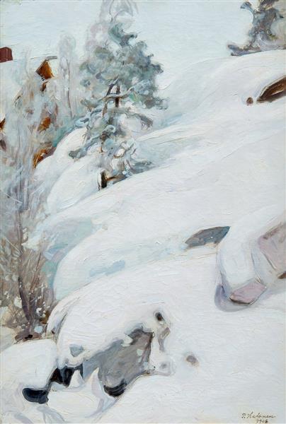 Winter Landscape, 1908 - Halonen, Pekka