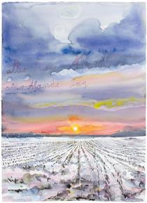 The Evening of All Days, the Day of All Evenings - Anselm Kiefer
