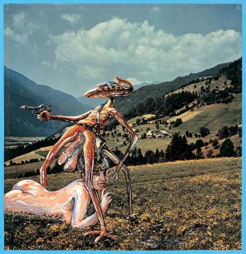 KÄRNTEN, DAS MÖLLTAL (EIN FÜHRER DURCH ÖSTERREICH FÜR AUSSERIRDISCHE WESEN NR.5), 1964 - 1965 - Christian Ludwig Attersee